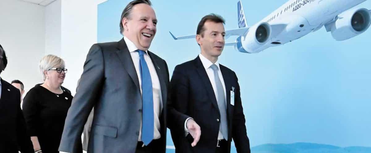 Jusqu'à 1,4 milliard $ investis dans les avions A220 en 2020