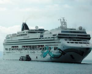 Les voyageurs sur le bateau de croisières NCL Jade ont pu quitter le navire à bord d'une navette, après quelques heures passées à Koh Samui, en Thaïlande.