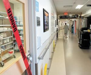 L'unité des soins intensifs de l'Hôpital général juif de Montréal est pleine et deux nouvelles unités ont été aménagées pour accueillir plus de patients dans les prochains jours.