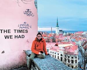 Olivier Bergeron, 22 ans, de Québec, doit abandonner sa session d'études en Finlande à cause de la pandémie. Comme plusieurs autres étudiants qui vivent la même situation, partout sur la planète, cela le peine beaucoup.