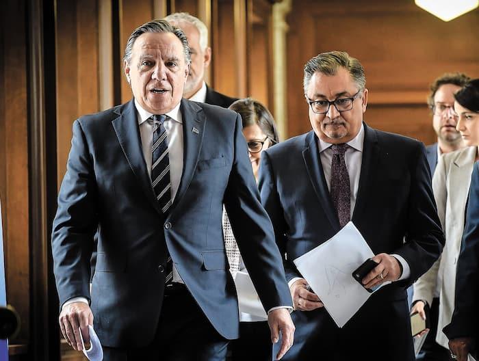 Le premier ministre François Legault gère la crise de main de maître jusqu'à maintenant.