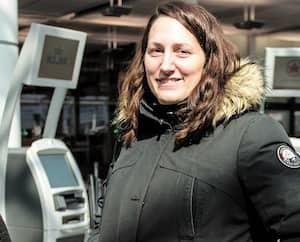 Ludivine Moulion devait partir avec son bébé pour Cuba lundi en fin d'après-midi.