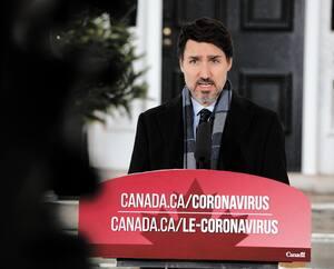 CANADA-HEALTH-VIRUS-TRUDEAU