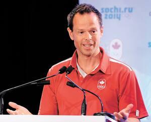 Équipe olympique canadiene.