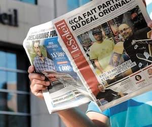 Le Soleil, Le Droit, La Tribune, Le Nouvelliste, La Voix de l'Est et Le Quotidien interrompent leur publication papier, en semaine.