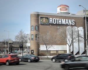 L'usine de Rothmans à Québec maintient ses activités, malgré la fermeture de nombreuses entreprises.
