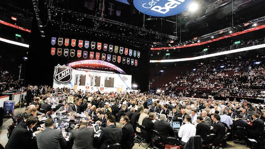 Day 2 of the floor during rounds of the 2009 NHL Entry Draft at the Bell Centre in Montreal Saturday June 27, 2009.s