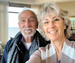 Yvon Deschamps et Judi Richards