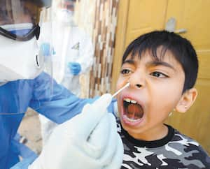 TOPSHOT-IRAQ-HEALTH-VIRUS