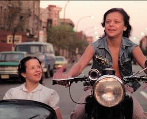 Une scène du film <i>L'eau chaude l'eau frette</i>, classique du cinéaste André Forcier.