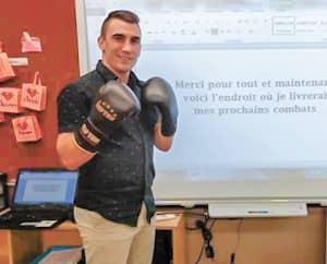 L'ex-pugiliste Michael Gadbois retrouvera bientôt ses élèves dans une école primaire de la Montérégie.