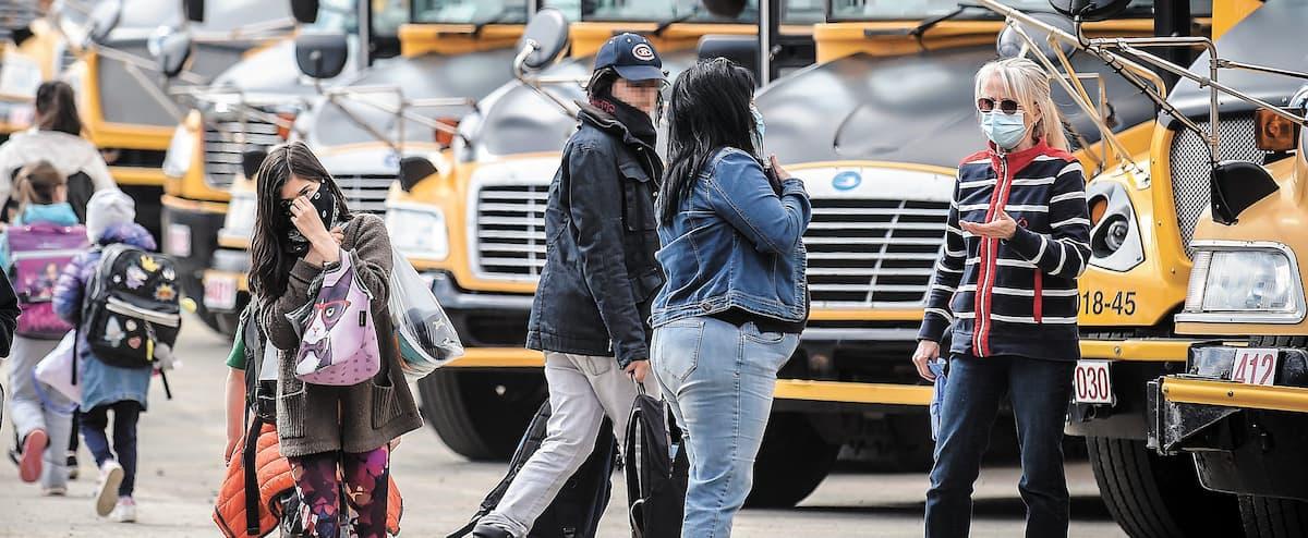 Le port du masque réclamé dans les autobus scolaires