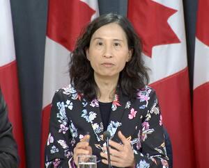 La Dre Theresa Tam, administratrice en chef de l'Agence de la santé publique du Canada.