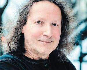 L'écrivain, Louis Hamelin.
