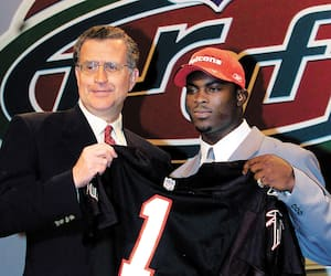 Michael Vick, premier choix de la NFL en 2001.