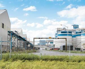 La production d'aluminium chez Alluminerie Bécancour Inc a chuté en raison d'un lock-out, et l'usine a émis trois fois moins de gaz à effet de serre en 2018 par rapport à 2017.