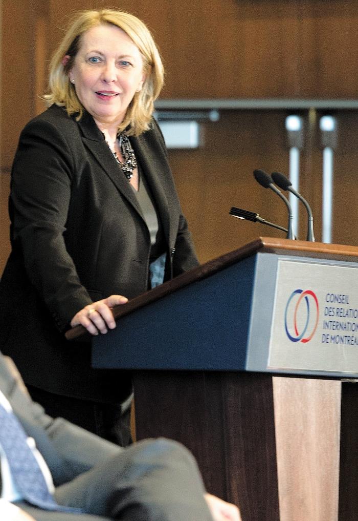 Christine St-Pierre, toujours députée libérale de l'Acadie, jure qu'elle n'a jamais eu connaissance de cette grille partisane implacable que ses propres employés de cabinet  appliquaient aux demandes.