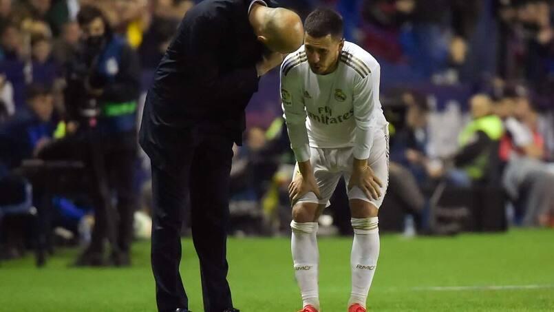 Eden Hazard encore blessé