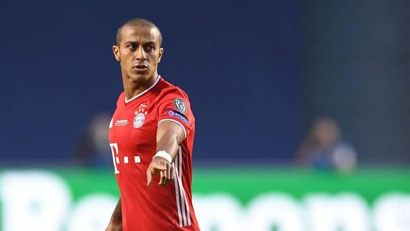 Le Bayern confirme le départ de Thiago Alcantara