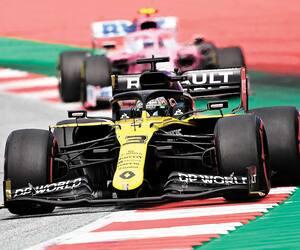 Daniel Ricciardo s'est plaint du comportement en piste de Lance Stroll, la semaine dernière au circuit de Spielberg, en Autriche.
