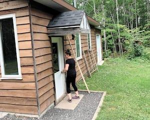 La résidente Emy Campbell dit barrer systématiquement ses portes derrière elle.