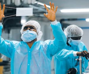 GEN-Visite de Medicom fabricant de masque médicaux