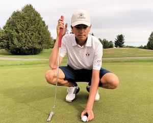 À 16 ans, Malik Dao compte parmi les plus beaux espoirs du Québec au golf.