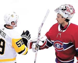 Carey Price a livré la marchandise. Il a muselé Jake Guentzel et l'attaque des Penguins.
