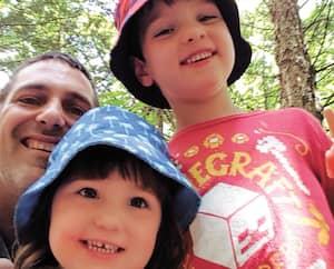 Alexandre Morier était un père dévoué pour ses enfants Elliot, 6 ans, et Zoé, 4 ans.