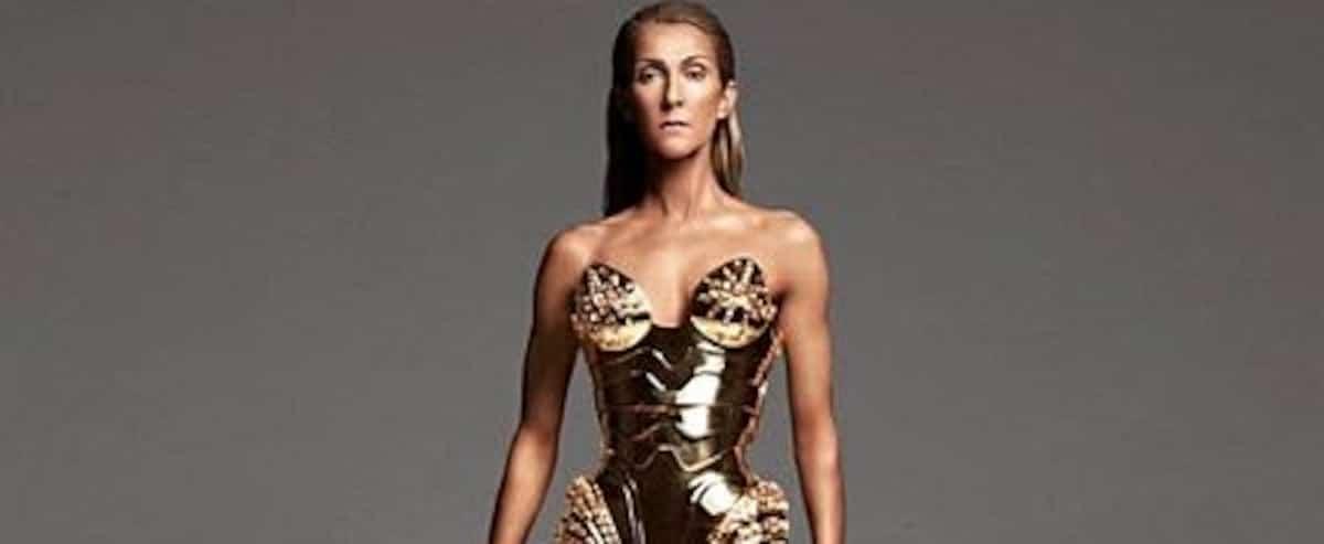 Un look futuriste pour Céline Dion