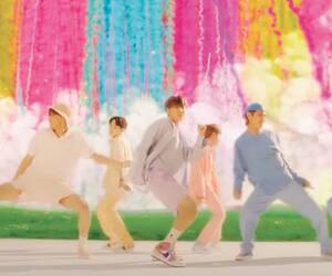 Une scène du vidéoclip de la chanson Dynamite, du groupe coréen BTS, lancé le 21 août 2020.