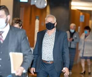 Le père de Josiane Arguin, Denis Arguin, a témoigné vendredi au palais de justice de Montréal, au procès du conjoint de sa fille accusé du meurtre de celle-ci.