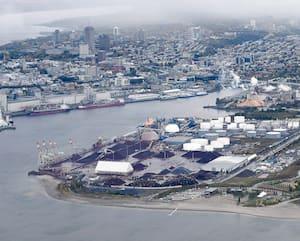 Le projet de terminal de conteneurs Laurentia du Port de Québec se chiffre à775M$, dont 505M$ sont financés par le privé.