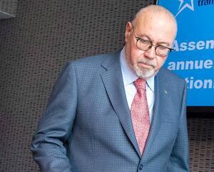 Le PDG de Transat, Jean-Marc Eustache (ici en mars dernier), aura droit à une rente de retraite de près de 1,4 million$ par année.