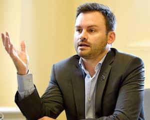 Le chef du Parti québécois (PQ), Paul St-Pierre Plamondon