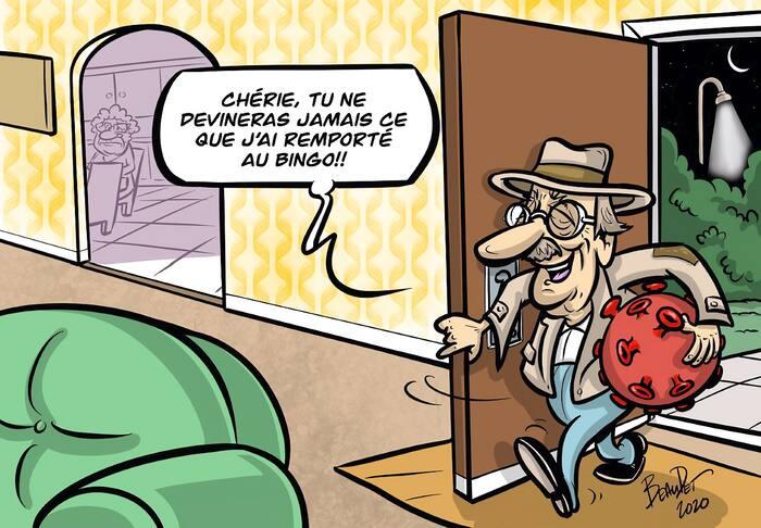 opinions - caricature - beaudet - coronavirus