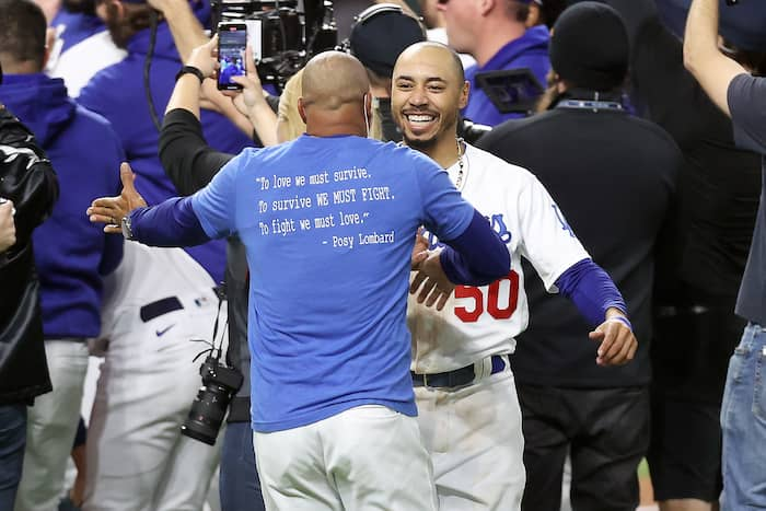 L'acquisition de Mookie Betts a porté fruit pour les Dodgers.