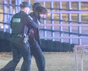Carl Girouard n'a pas résisté lors de son arrestation après qu'il aurait commis les attaques à coups de sabre japonais dans le Vieux-Québec, le soir de l'Halloween.