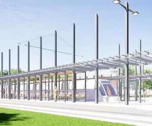 Le maire de Québec, Régis Labeaume, est resté ferme sur le terminus Le Gendre (illustration) pour le tramway : la Ville ne peut pas le retirer du projet.