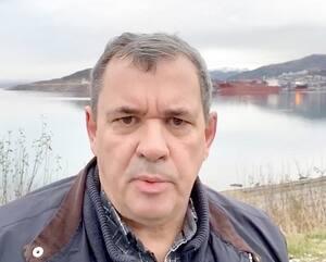 André Lafrance dans une vidéo en direct de la Norvège dans laquellle il affirme que porter le masque peut être néfaste.