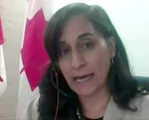 La ministre des Services publics et de l'Approvisionnement, Anita Anand, a comparu lundi soir en comité parlementaire, où elle aréponduaux questions de l'opposition.
