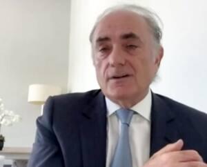 Le PDG d'Air Canada, Calin Rovinescu, s'est adressé mercredi, par vidéo, aux membres du Canadian Club de Toronto.