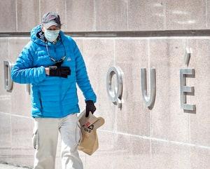 Un sondage de l'INSPQ sur le comportement des Québécois montre que 94% d'entre eux portent le masque ou le couvre-visage.