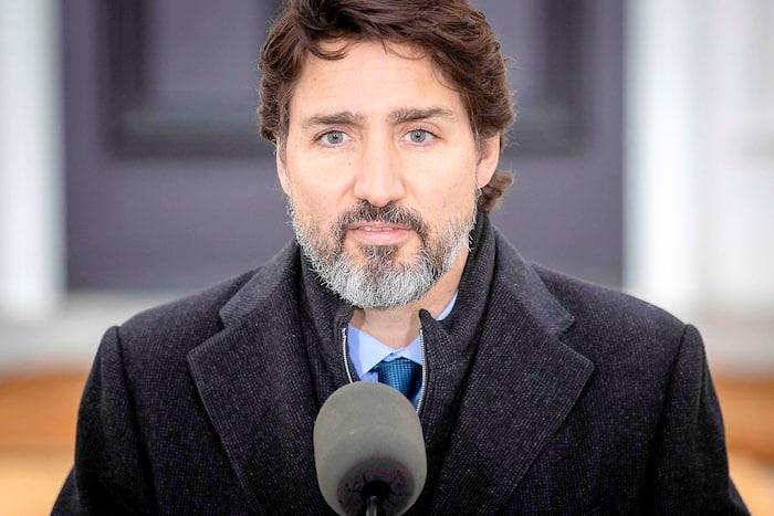 CANADA-HEALTH-VIRUS-TRUDEU