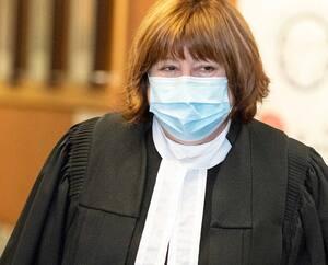L'avocate Christiane Pelchat, qui représente l'organisme Pour les droits des femmes du Québec, est venue plaider lundi en faveur de la Loi sur la laïcité de l'État.