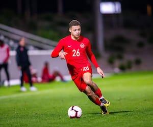 Le jeune défenseur Zorhan Bassong a porté le maillot du Canada en 2019.