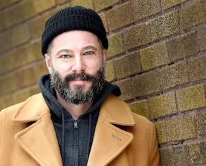 L'artiste Benoit Pinette, alias Tire le Coyote.