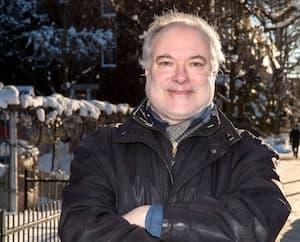 Gaëtan Roussy, vice-président de l'Association des psychologues du Québec, cette semaine, dans une rue de Montréal.