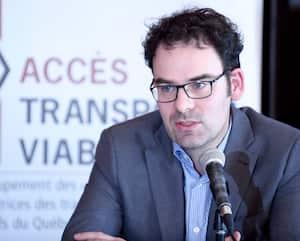 <b>Étienne Grandmont</b><br /><i>Accès transports viables</i>