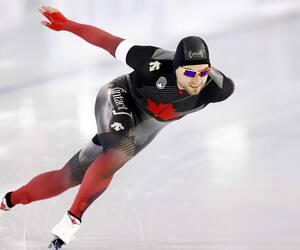 Le patineur de vitesse longue piste Laurent Dubreuil a conclu un mondial de rêve en obtenant la médaille de bronze dans l'épreuve du 1000m.